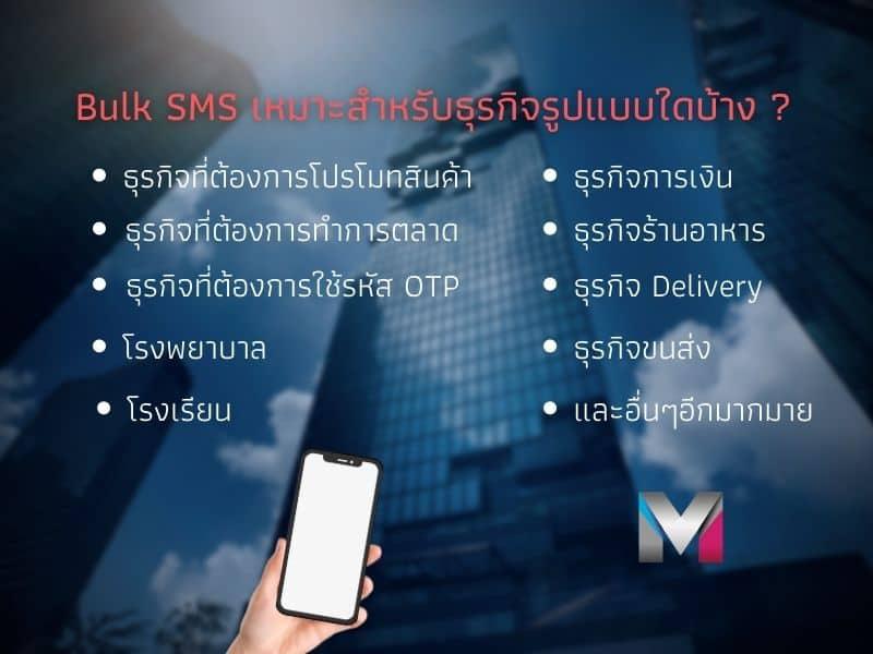 Bulk SMS Suitable for